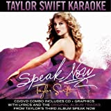 Speak Now Karaoke Taylor Swift