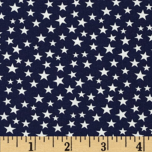 Made in the USA Stars White/Navy Fabric zippo made in usa 28491