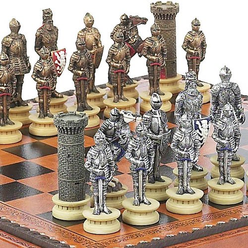 Medieval chess set - Medieval times chess set ...