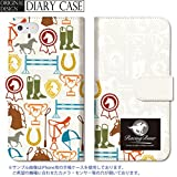 301-sanmaruichi- iPhone6s ケース iPhone6 ケース 手帳型 おしゃれ 競馬 グッズ 乗馬 蹄鉄 racingbuur ロゴ 馬 hourse B 手帳ケース