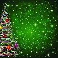 Reminisce Magical Christmas Christmas Tree Magic Christmas Scrapbook Paper