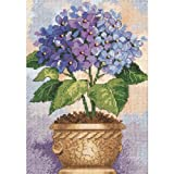 Dimensions Counted Cross Stitch Kit, Hydrangea in Bloom