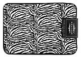 RAMPAGE Printed Memory Foam Bath Mat, Zebra