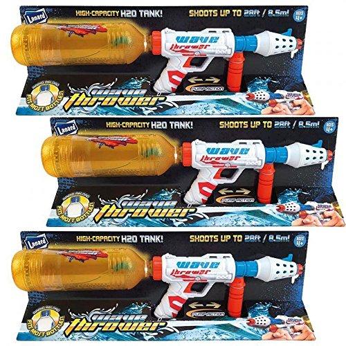 3-Lanard-Super-Bottle-Wasserpistole-Wassergewehr-fr-PET-Flaschen-85M-750ml