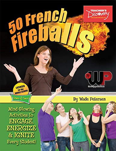 50 French Fireballs: Activity Book (French Edition) PDF