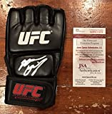 Nate Diaz Autographed Left Handed Glove UFC MMA Witness JSA Authentication - Autographed UFC Gloves