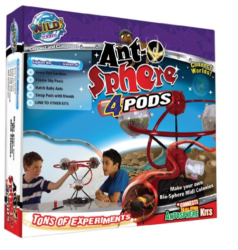 Wild Science Ant-O-Sphere 4-Pods front-1054683
