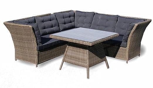 osoltus Lounge Gruppe Rattanmöbel Gartenmöbel Sitzgruppe Madisol