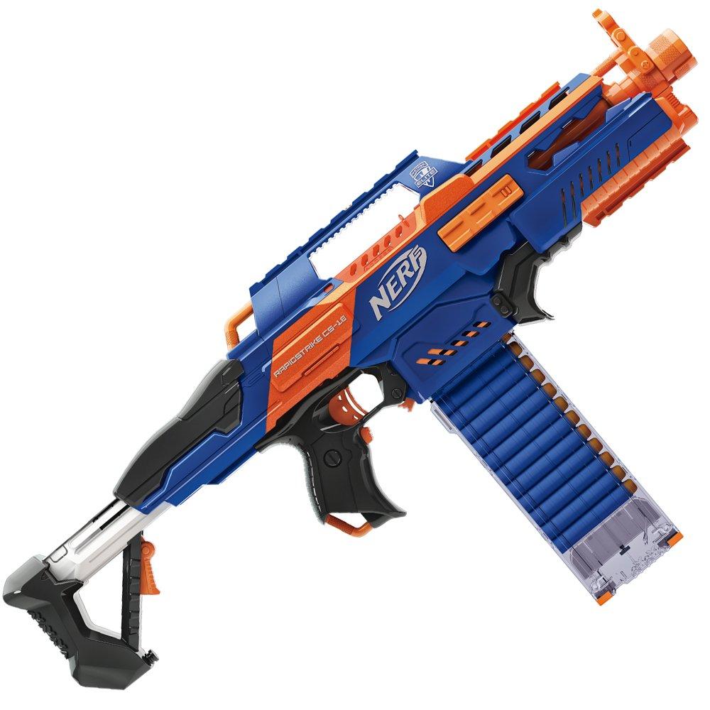 Nerf n strike elite rapidstrike cs 18 ebay for Nerf motorized rapid fire blasting