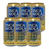 インカコーラ (INCA KOLA) 缶 355ml×6本セット