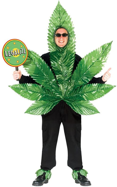 Blunt Master Adult Costume , GANJA MON