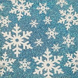 Martha Stewart Crafts Winter Wonderland Glitter By Number Kit