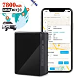 GPS Tracker for Vehicles, 7800mAh IoT Real-time GPS Tracking Device for Car NB-IoT Cat-M 4G Small Hidden GPS Locator for Vehicle, Car, Personal, Valuable - with Global SIM Card - 90 Days