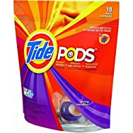 Tide Liquid Laundry Detergent Pods-18CT TIDE PODS DETERGENT