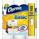 Charmin Basic Toilet Paper 12 Huge Rolls (Pack of 4)