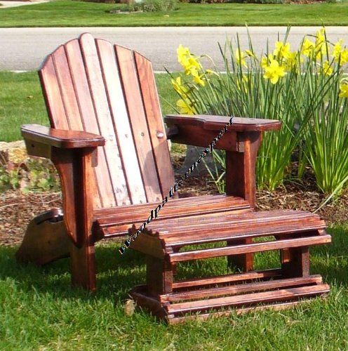 PLANS TO BUILD ADIRONDACK CHAIR FULL SIZE PATTERN WITH FOOT REST