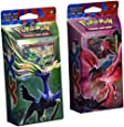 BOTH DECKS - Pokemon 2014 TCG Card Game XY Theme Decks - (Xerneas) Resilient Life & (Yveltal) Destruction Rush