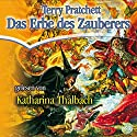 Das Erbe des Zauberers: Ein Scheibenwelt-Roman Audiobook by Terry Pratchett Narrated by Katharina Thalbach