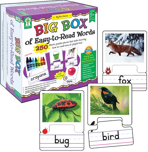 Key Education Big Box of Easy-to-Read Words Educational Board Game (Education Board Games compare prices)