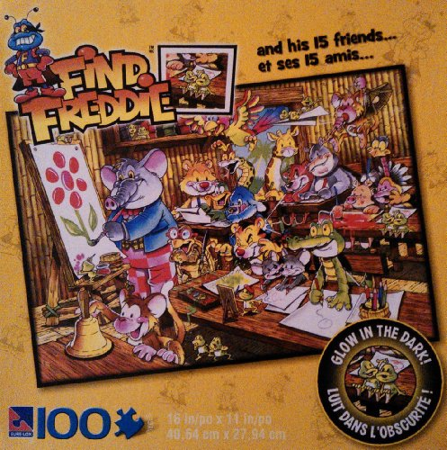 Find Freddie Jungle Classroom 100 Piece Puzzle
