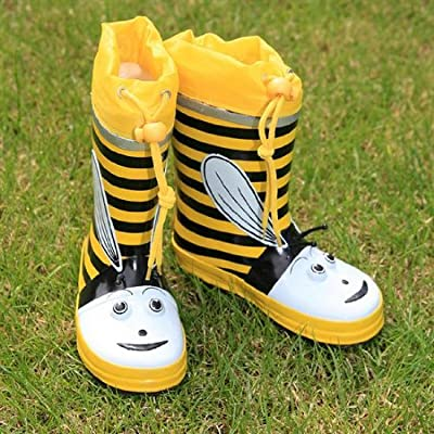 Kids Infant Child BUMBLE BEE Funky Fashion Festival wellies Wi14