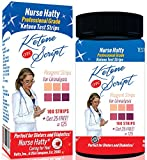 Professional-Ketone-Strips-125ct-UPDATED-100-Waterproof-15-Panel-Color-Chart-for-Precise-Ketone-Measurement-Ketone-Test-Strips-Ketone-Script-PDF-Info-Pack-to-Benefit-Your-Diet