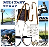 WOSS Military Strap Trainer, Brown, Made in USA Suspension System