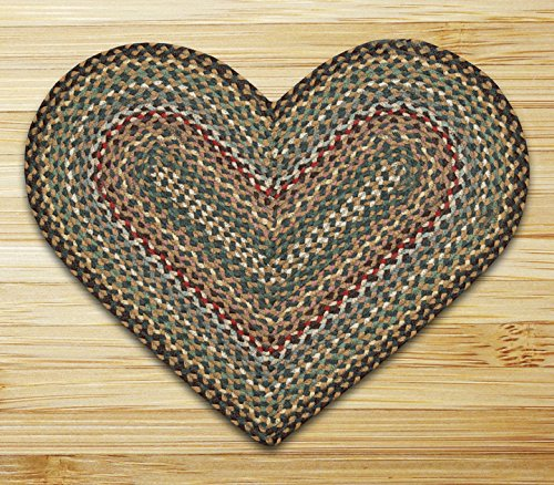 """Earth Rugs 10-051, 20 by 30"""", Fir/Ivory"""