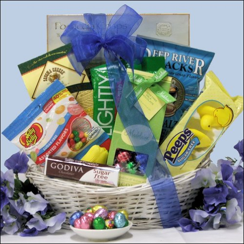 Happy Easter Sugar Free Gourmet Gift Basket