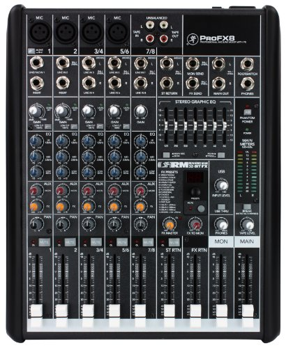 Mackie ProFX8 Professional Compact Mixer