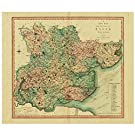 Map of Essex by Charles Smith - 1804