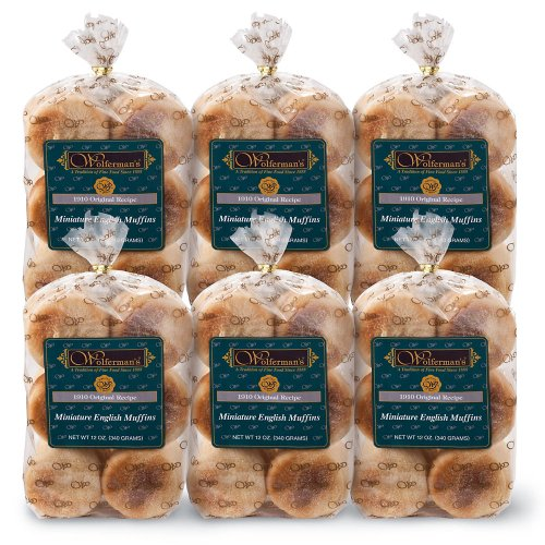 Wolferman's 1910 Original Recipe Mini English Muffins 6-Pack
