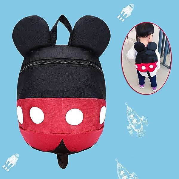 Baby Kids Anti-Lost Strap Plush Walking Belt Safety Harness Leash Backpack