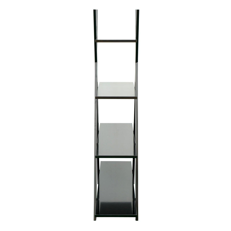 hom modern free standing storage display case x frame bookcase