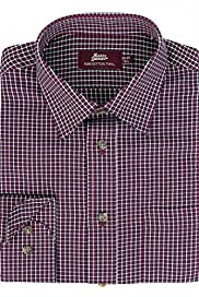 Pure Cotton Checked Twill Shirt [T11-1835-S]