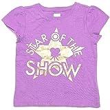 """Star of The Show"" Metallic Tee T-Shirt Girls"