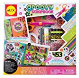 ALEX Toys 106PN Girls Groovy Scrapbook Kit with 48-Page Hardcover Book