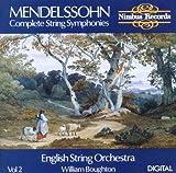echange, troc  - Mendelssohn : Les Symphonies pour cordes, vol. 2. Boughton.