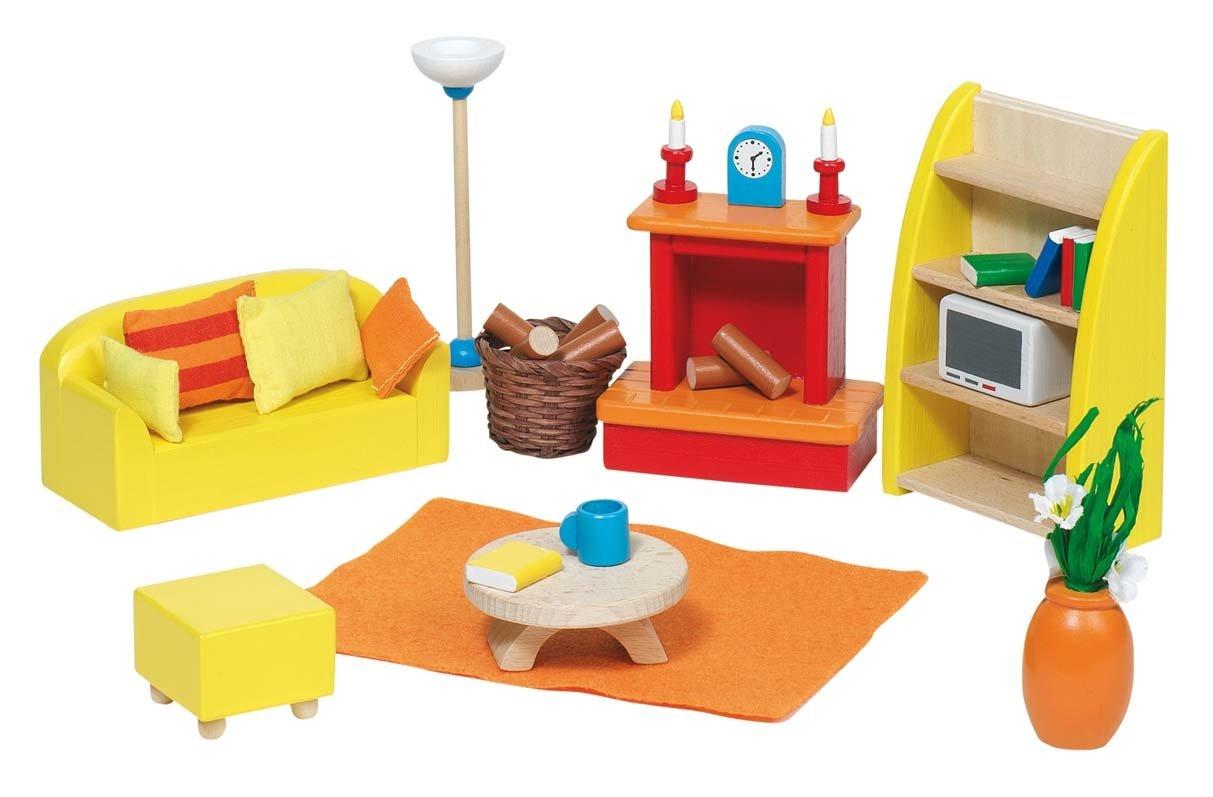 Toys pure 51.904 Puppenhausmöbel für das Wohnzimmer, 24-teilig günstig bestellen