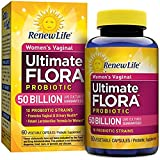 Renew Life - Ultimate Flora Probiotic Women's Care - 50 billion - 60 vegetable capsules (2 Packs)
