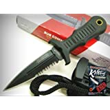 UNITED Cutlery Mini SUB COMMANDER Double Edge Dagger Boot NECK Knife UC2724 New! + free eBook by ProTactical'US