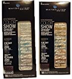Maybelline Color Show Fashion Prints Nail Stickers Frayed Foils and Golden Distress
