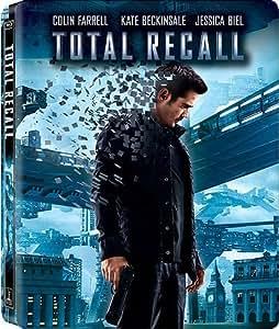 Total Recall Extended Director's Cut Blu-ray SteelBook (Three-Disc Blu-ray /DVD + Digital Copy)
