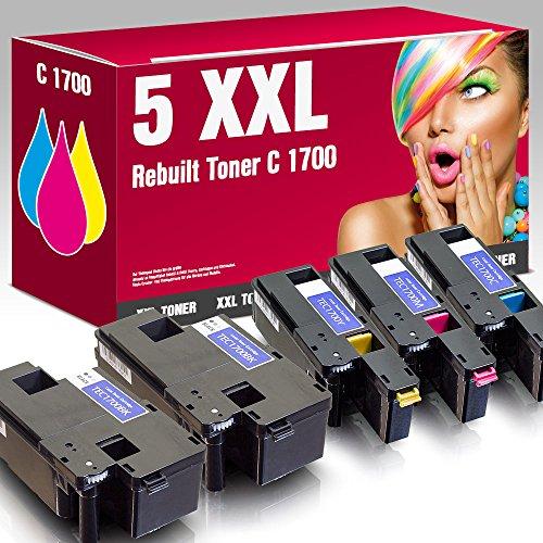 ms-point® Multipack 5x Kompatibler Toner für Epson