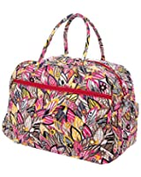 Belvah Quilted Large Duffle Bag