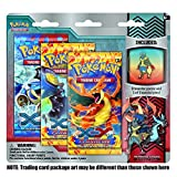 Pokemon Flashfire XY TCG Booster - Three (3) Pack with Mega Lucario Pin