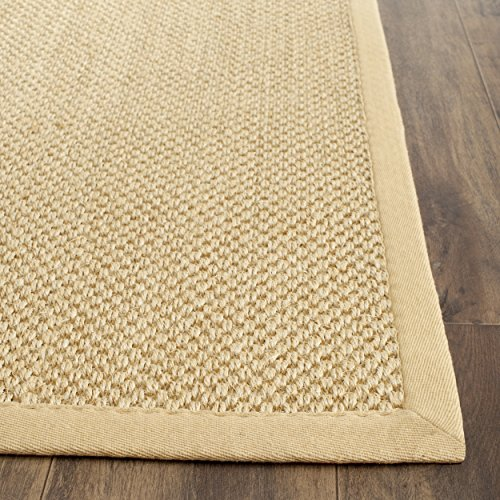 Safavieh Natural Fiber Collection NF443A Handmade Maize and Wheat Sisal Area Runner, 2 feet 6 inches by 6 feet (2'6
