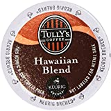 Tully's Hawaiian Blend Extra Bold Coffee Keurig K-Cups, 18 Count