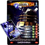 Doctor Who - Single Card : Exterminator 119 Imperial Dalek Guard 2 Dr Who Battles in Time Rare Card