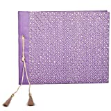 In Design Silk Handmade Paper Photo Album (EH01, Purple)